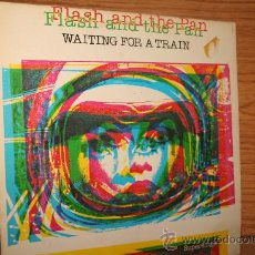 Discos de vinilo: FLASH AND THE PAN. WAITING FOR A TRAIN. Lote 28772411
