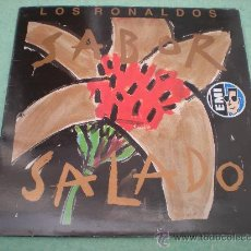 """Discos de vinilo: LOS RONALDOS_SABOR SALADO_VINILO 12"""" EDICION ESPAÑOLA DOBLE CARPETA 1990. Lote 27985762"""