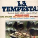 Discos de vinilo: LA TEMPESTAD - ALFREDO KRAUS / FRANCISCO KRAUS (CARILLON REEDICON SIN FECHA). Lote 27986738