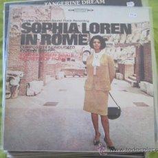 Discos de vinilo: JOHN BARRY - SOPHIA LOREN IN ROME (1964) - LP CBS REEDICIÓN. Lote 27998124