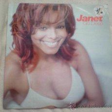 Discos de vinilo: JANET JACKSON_GO DEEP_VINILO 12