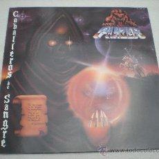 Discos de vinilo: PANZER_CABALLEROS DE SANGRE_CHAPA DISCOS_LP EDICION ESPAÑOLA_1986. Lote 28005118