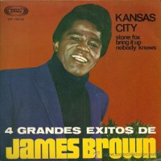 Discos de vinilo: JAMES BROWN EP SELLO SONOPLAY AÑO 1967 EDITADO EN ESPAÑA. Lote 28007103