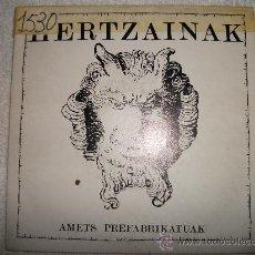 Disques de vinyle: HERTZAINAK / 1990 OIHUKA . Lote 28009791