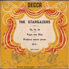 Discos de vinilo: EP-THE STARGAZERS-DECCA 6127-ESPAÑOL. Lote 28012721