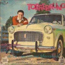 Discos de vinilo: EP-TORREBRUNO-HISPAVOX 7712. Lote 28012738