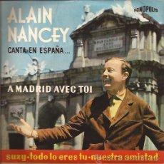 Discos de vinilo: EP-ALAIN NANCEY-FONOPOLIS 6419-. Lote 28012756