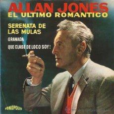 Discos de vinilo: EP-ALLAN JONES-FONOPOLIS 6350-. Lote 28012766