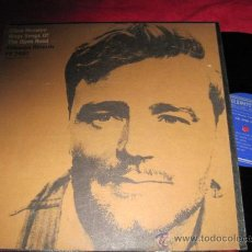 Discos de vinilo: LP-CISCO HOUSTON-FOLKWAYS 2480-ORIG.USA-FOLK. Lote 28013635