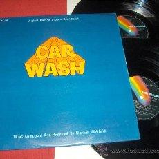 Discos de vinilo: CAR WASH BSO OST 2LP 1977 MCA RECORDS EDICION ESPAÑOLA EXCELENTE ESTADO DISCO DANCE. Lote 28014634