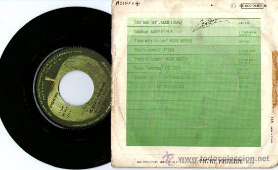 Discos de vinilo: CONTRAPORTADA - Foto 2 - 28016656