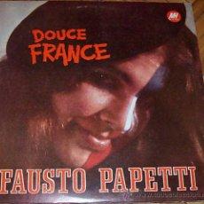 Discos de vinilo: LP ARGENTINO DE FAUSTO PAPETTI AÑO 1970. Lote 26514230