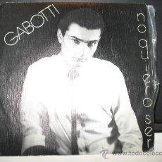 Discos de vinilo: GABOTTI. Lote 28021132