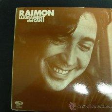 Discos de vinilo: RAIMON. LLIURAMENT DEL CANT. . MOVIEPLAY 1977. LP. Lote 28026085