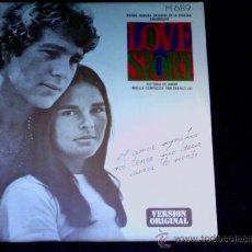 Discos de vinilo: LOVE STORY - BSO - SINGLE 1972. Lote 28038384