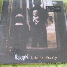 Discos de vinilo: KORN - LIFE IS PEACHY (1996) - LP REEDICIÓN MUSIC ON VINYL 2015 NUEVO. Lote 28034738