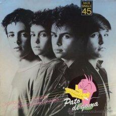Discos de vinilo: PATO DE GOMA, ¿POR QUE?, EDICION DE 1983 DE ESPAÑA, MAXI-SINGLE PROMO. Lote 28036532
