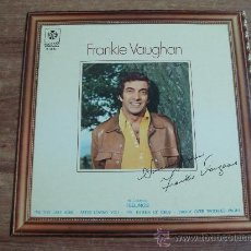 Discos de vinilo: FRANKIE VAUGHAN.-SINCERELY YOURS.-DISCOS BELTER.-PRODUCIDO POR TERRY BROWN.-AÑO 1975.-. Lote 28358492