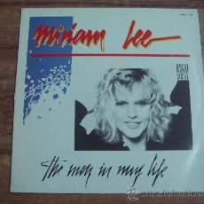Discos de vinilo: MIRIAM LEE.-THE MEN IN MY LIFE.-MAXI SINGLE.-EDITA SERDISCO.-AÑO 1985.-. Lote 28359620