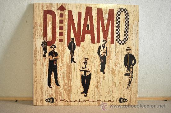 DINAMO - PSICLOTIMIA - VINILO 10 PULGADAS - EDICIÓN LIMITADA 500 COPIAS, NUMERADAS A MANO. (Música - Discos - LP Vinilo - Reggae - Ska)