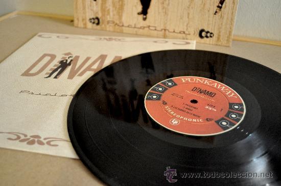 Discos de vinilo: DINAMO - Psiclotimia - vinilo 10 pulgadas - Edición limitada 500 copias, numeradas a mano. - Foto 2 - 106912438