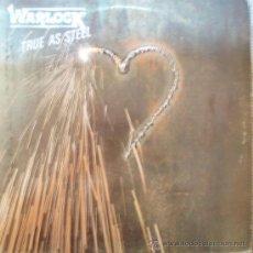 Discos de vinilo: WARLOCK, TRUE AS STEEL, EDICION DE 1986 DE ESPAÑA. Lote 28046683