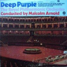 Disques de vinyle: DEEP PURPLE, THE ROYAL PHILHARMONIC ORCHESTA, EDICION DE 1972 DE MEXICO. Lote 28047599