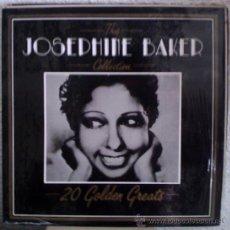 Discos de vinilo: JOSEPHINE BAKER – THE JOSEPHINE BAKER COLLECTION - 20 GOLDEN GREATS - LP DEJA VU – DVLP 2097 - 1987. Lote 28048645