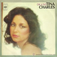 Discos de vinilo: TINA CHARLES SINGLE SELLO CBS AÑO 1977. Lote 28050405