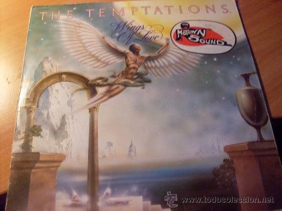 THE TEMPTATIONS ( WINGS OF LOVE ) LP FRANCIA 1976 ( VG+/EX-) (FR2) (Música - Discos - LP Vinilo - Funk, Soul y Black Music)