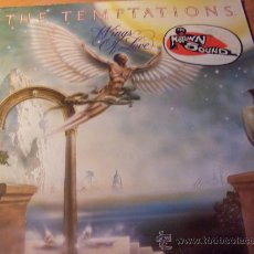 Discos de vinilo: THE TEMPTATIONS ( WINGS OF LOVE ) LP FRANCIA 1976 ( VG+/EX-) (FR2). Lote 28062653