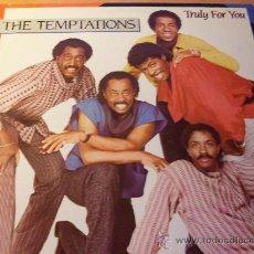 Discos de vinilo: THE TEMPTATIONS ( TRULY FOR YOU ) LP 1984 ( EX-/NM) (FR2). Lote 28062671