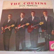 Discos de vinilo: THE COUSINS (LOS PRIMOS) - DISCO DOBLE (MICHAEL - TOODELOO - DO RE MI Y OTRO) - ARGENTINA. Lote 28061780