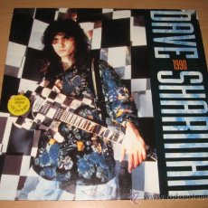 Discos de vinilo: LP DAVE SHARMAN 1990 GUITAR VS. SATRIANI .NOISE 1990 GERMANY . Lote 28062164