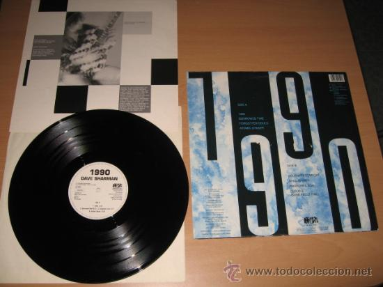 Discos de vinilo: LP DAVE SHARMAN 1990 Guitar VS. SATRIANI .NOISE 1990 GERMANY - Foto 2 - 28062164