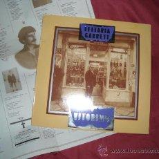 Discos de vinilo: VITORINO LP LEITARIA GARRETT 1984 CONTIENE POSTER LETRA DE CANCIONES EMI PORTUGAL. Lote 28067477