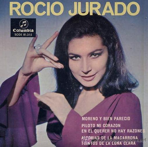 ROCÍO JURADO - EP, 1967 (Música - Discos de Vinilo - EPs - Flamenco, Canción española y Cuplé)