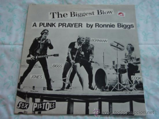 SEX PISTOLS ( MY WAY - THE BIGGEST BLOW ) 1970 / 1978 MAXI45 WARNER BROS MUSIC (Música - Discos de Vinilo - Maxi Singles - Punk - Hard Core)