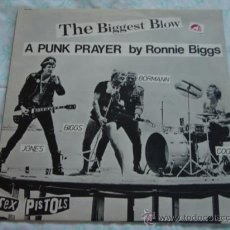 Discos de vinilo: SEX PISTOLS ( MY WAY - THE BIGGEST BLOW ) 1970 / 1978 MAXI45 WARNER BROS MUSIC. Lote 28072407