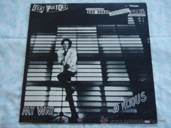 Discos de vinilo: SEX PISTOLS ( MY WAY - THE BIGGEST BLOW ) 1970 / 1978 MAXI45 WARNER BROS MUSIC - Foto 2 - 28072407