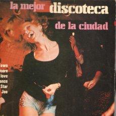 Discos de vinilo: LP PHIL CONWAY AND THE FREE GROUP: LA MEJOR DISCOTECA DE LA CIUDAD. Lote 28081631