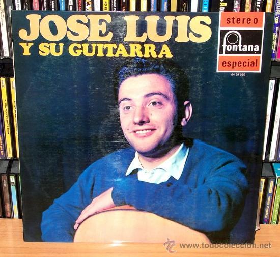 LP ALBUM / JOSE LUIS Y SU GUITARRA. (Música - Discos - LP Vinilo - Flamenco, Canción española y Cuplé)
