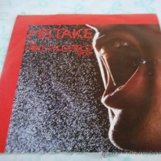Discos de vinilo: THE MIKE OLDFIELD GROUP ( MISTAKE - (WALDBERG) THE PEAK ) 1982-ENGLAND SINGLE45 VIRGIN. Lote 28081777