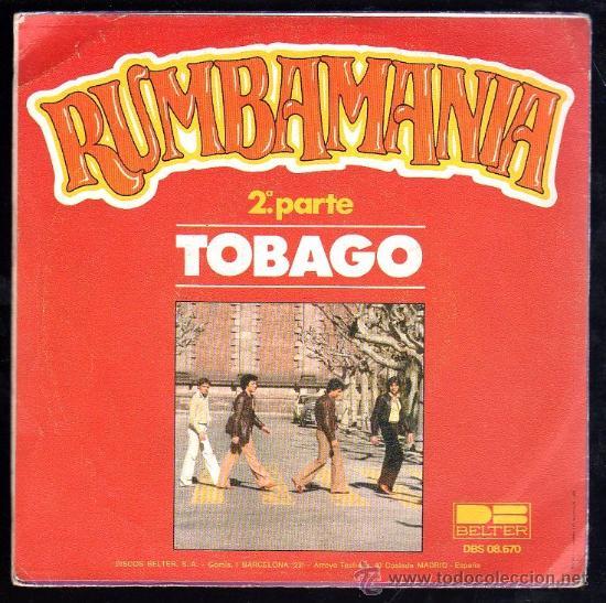 SINGLE DE RUMBAMANIA. TOBAGO (Música - Discos - Singles Vinilo - Otros estilos)