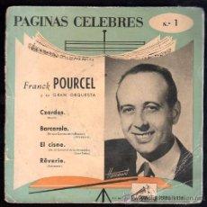 Discos de vinilo: SINGLE DE PAGINAS CELEBRAS. CZARDAS. Lote 28088979