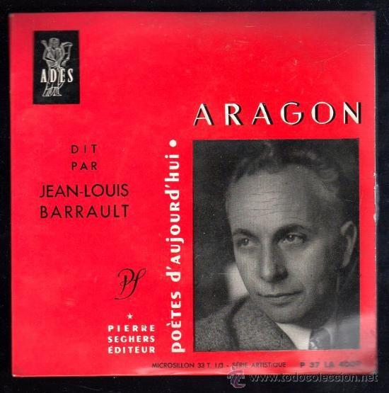 SINGLE DE ARAGON. POETES D'AUJOUR D'HUI (Música - Discos - Singles Vinilo - Otros estilos)