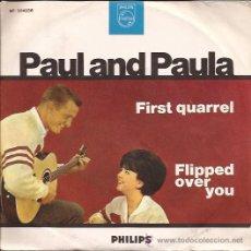 Discos de vinilo: SINGLE-PAUL AND PAULA-PHILIPS 304036-ITALIA-196???-. Lote 28089150