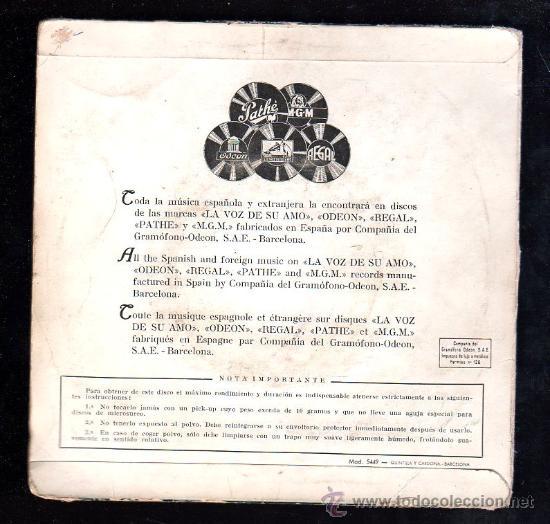 Discos de vinilo: SINGLE DE ORQUESTA MELACHRINO - Foto 2 - 28088994
