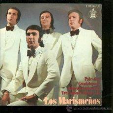 Discos de vinilo: SINGLE DE LOS MARISMEÑOS. PALESTINA. PALESTINA. GUADALUPANA. LIMEÑA DE MI AMOR. . Lote 28097346
