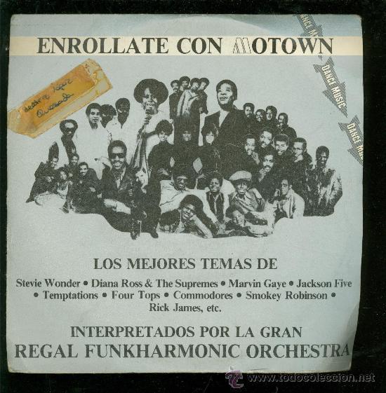SINGLE DE STEVIE WONDER, DIANA ROSS, TEMPTATIONS... ENROLLATE CON MOTOWS. MEJORES TEMAS. 2 DISCOS. (Música - Discos - Singles Vinilo - Otros estilos)